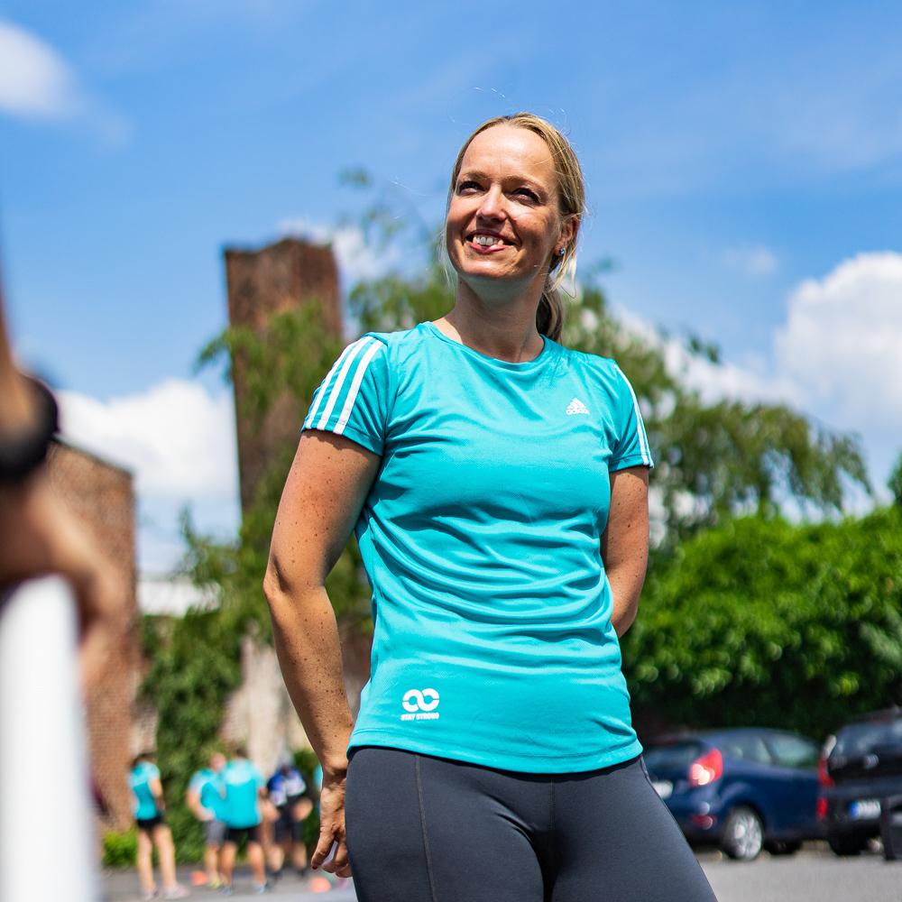 Fitnesstrainerin Cornelia Budzier aus Aachen