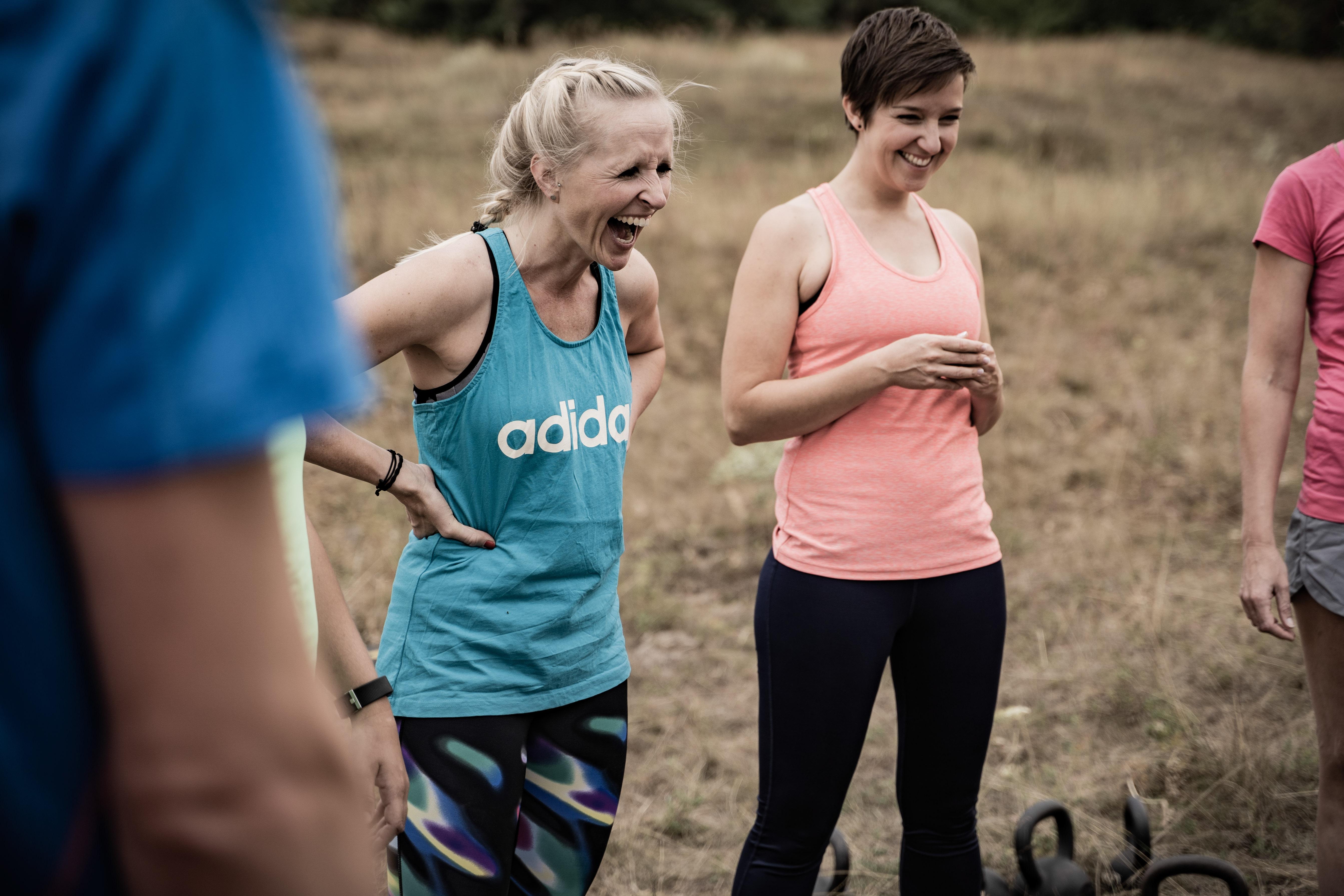 Outdoor Fitness Bootcamp sorgt für gute Laune