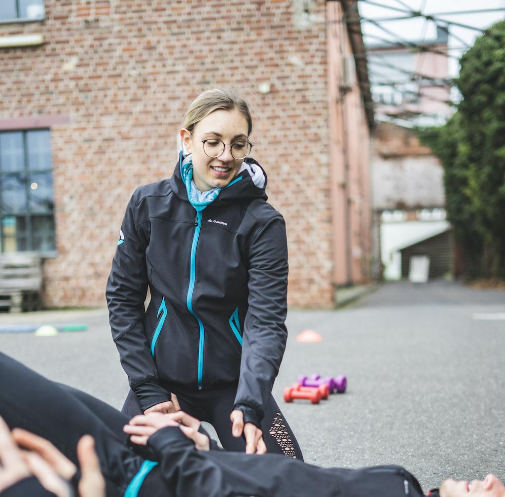 Fitness Trainer Kim Wedermann