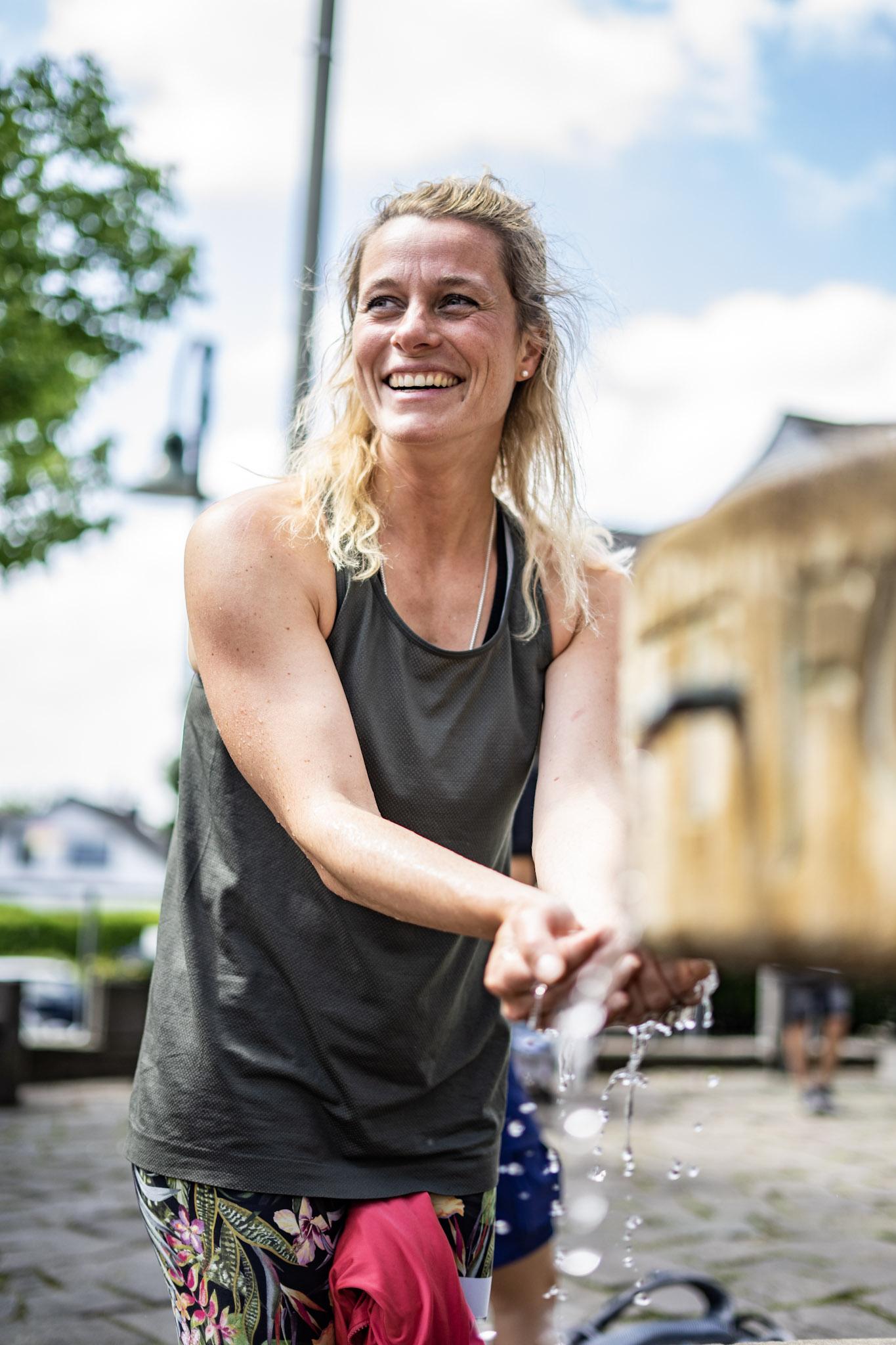 Personal Trainerin Saskia Barkhoff