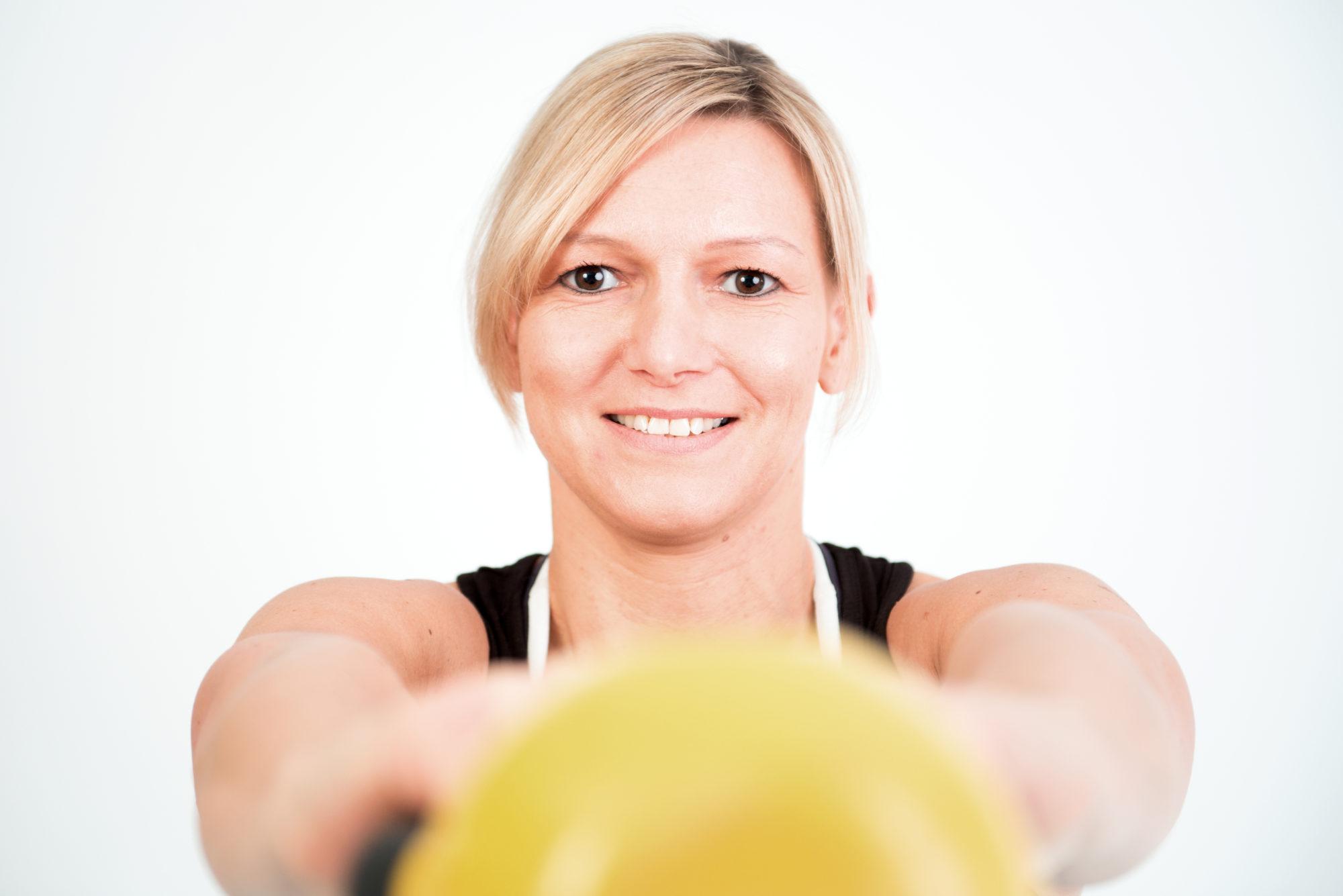 Personal Trainerin in Düsseldorf Bettina Heinzen