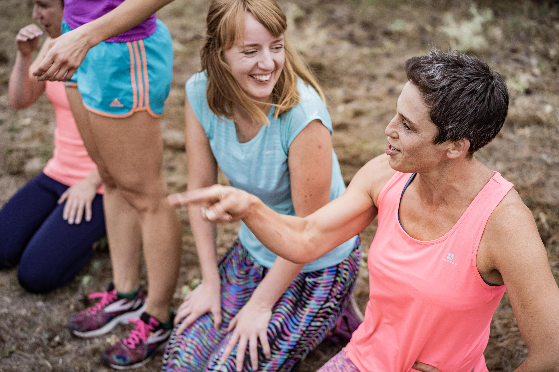 An den Ladies Only Camps nehmen nur Frauen teil.
