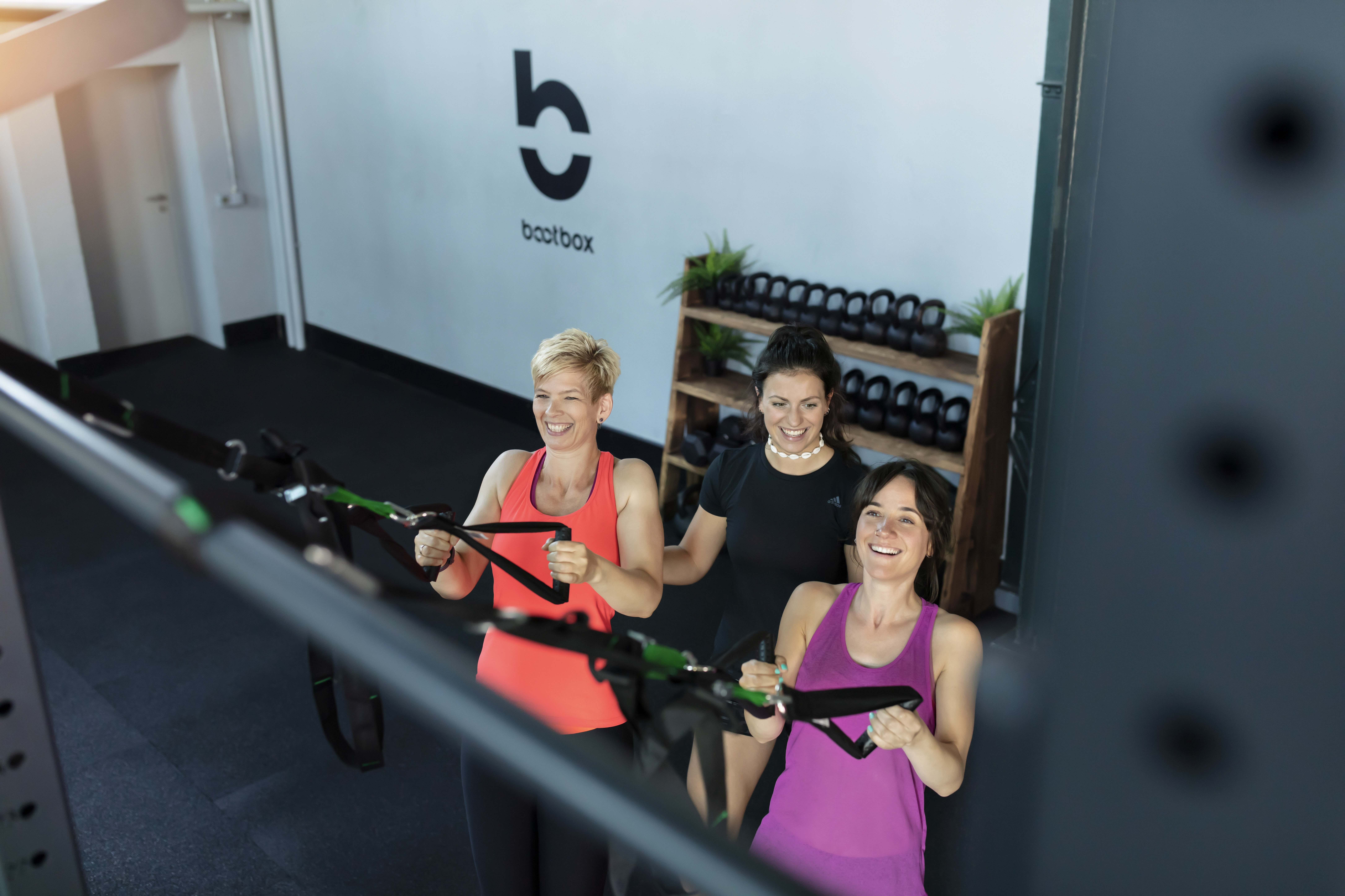 Personal Training Friends Better Together