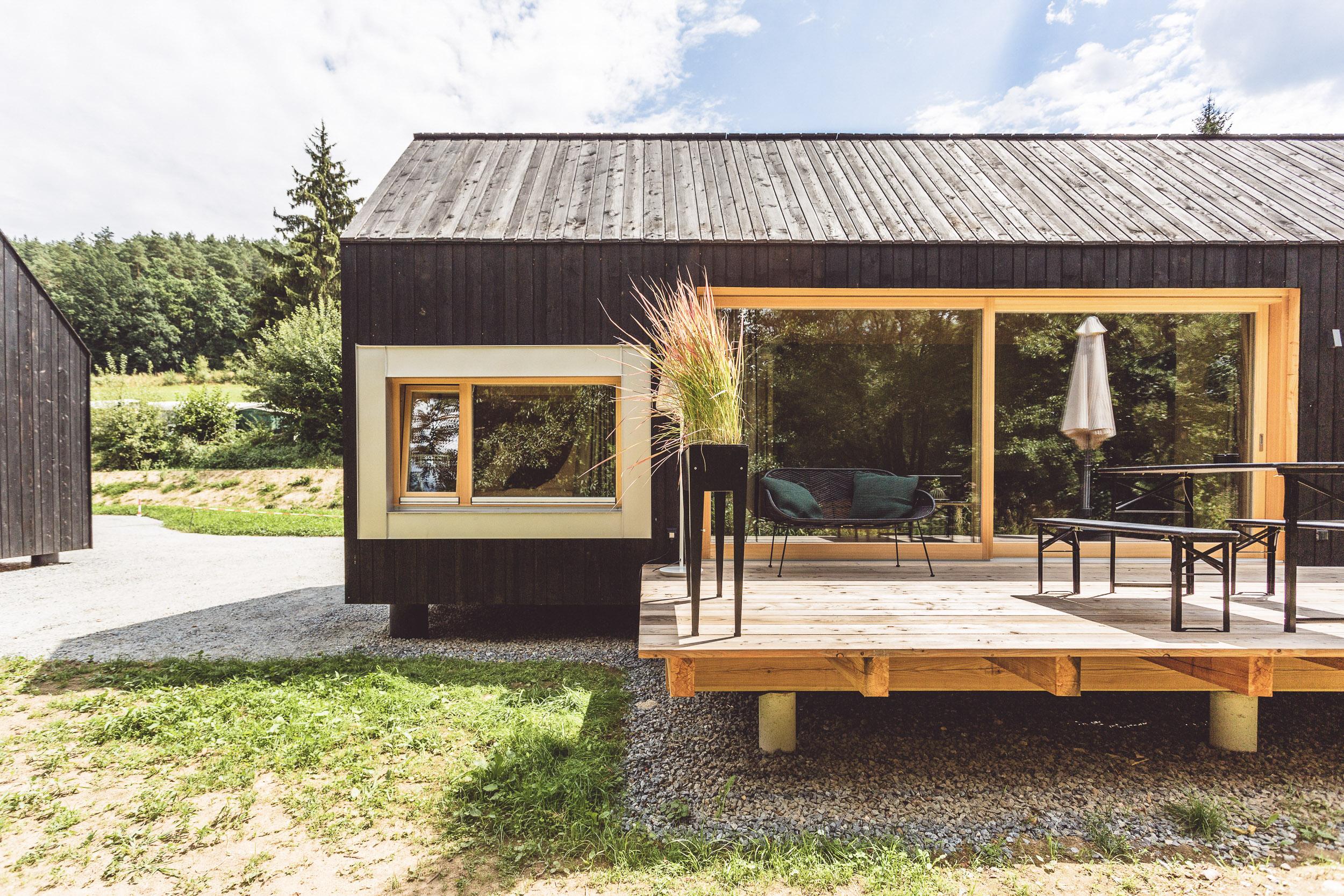 Luftige Eco Lodges der Schnitzmühle - Komfort mit Abenteuercharakter.