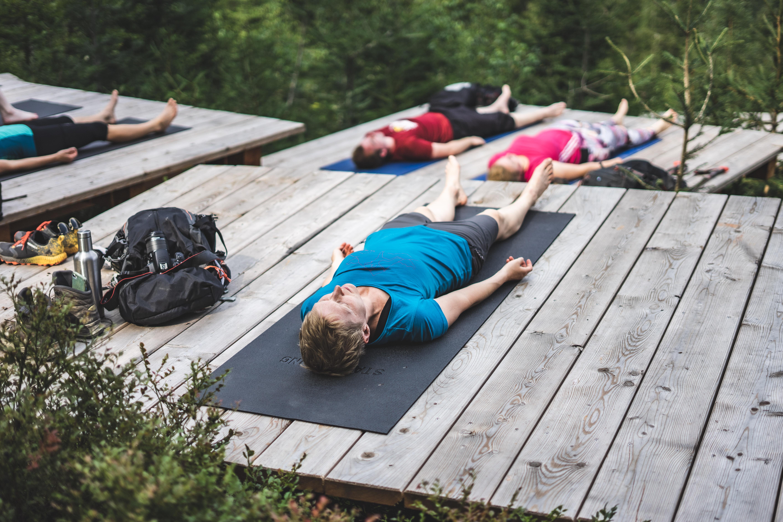 Yoga beim Sporturlaub