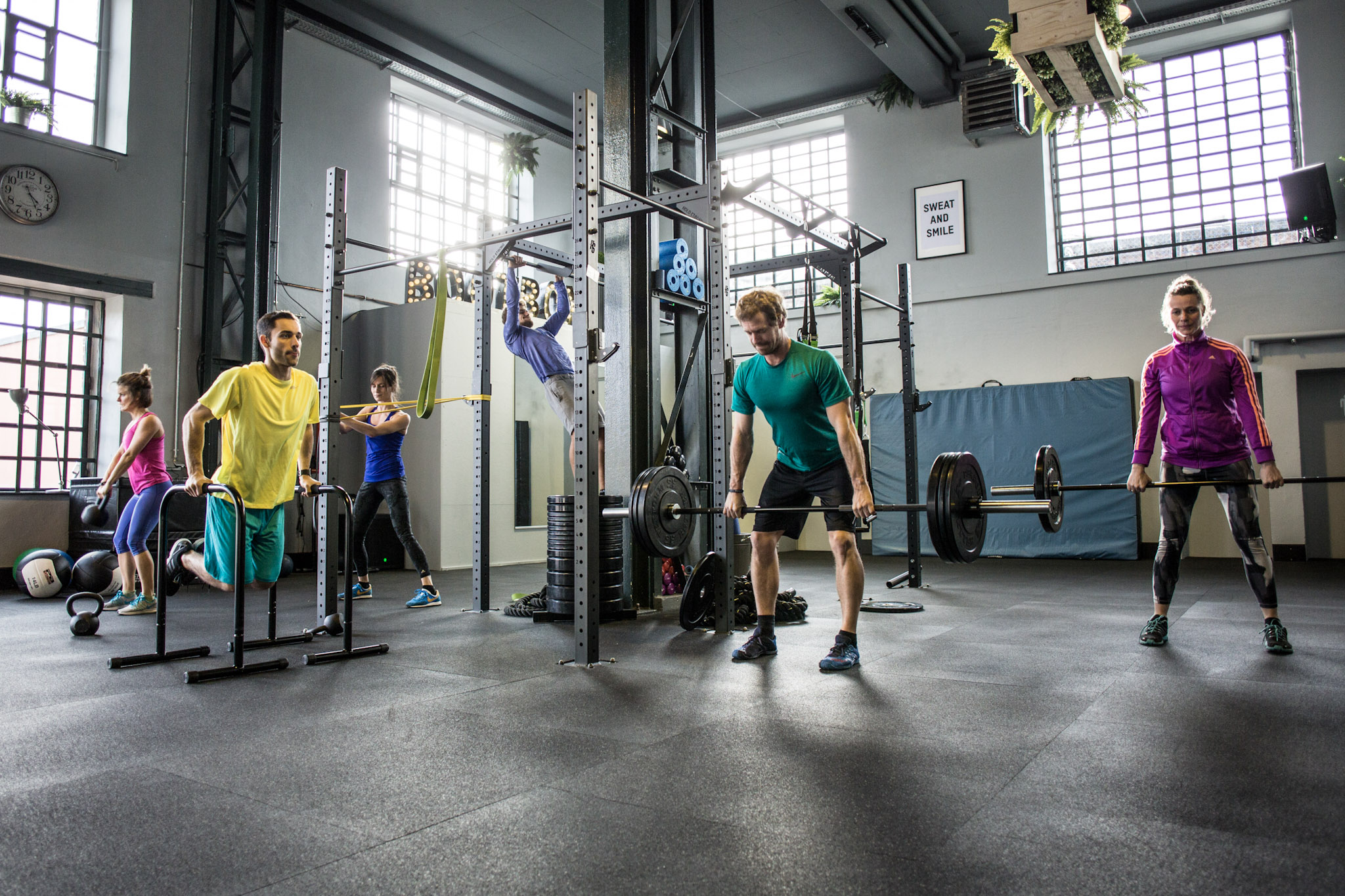 Muskelaufbau Langhantel Lifting Bootbox